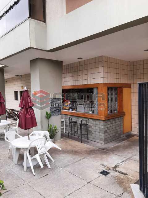 Bar Piscina - Apartamento 2 quartos para alugar Laranjeiras, Zona Sul RJ - R$ 2.900 - LAAP25576 - 18