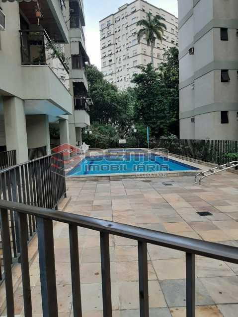 Piscina - Apartamento 2 quartos para alugar Laranjeiras, Zona Sul RJ - R$ 2.900 - LAAP25576 - 19