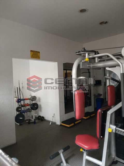 Academia - Apartamento 2 quartos para alugar Laranjeiras, Zona Sul RJ - R$ 2.900 - LAAP25576 - 20