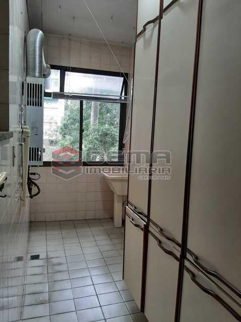 Área de serviço - Apartamento 2 quartos para alugar Laranjeiras, Zona Sul RJ - R$ 2.900 - LAAP25576 - 15