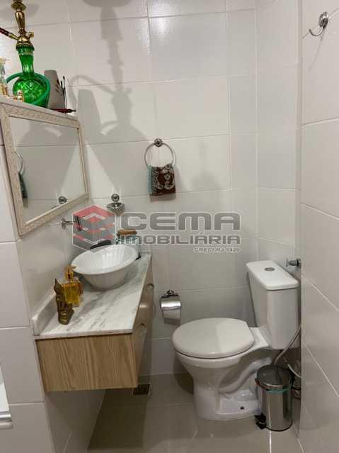 Banheiro suíte - Apartamento 2 quartos para alugar Glória, Zona Sul RJ - R$ 2.500 - LAAP25601 - 15