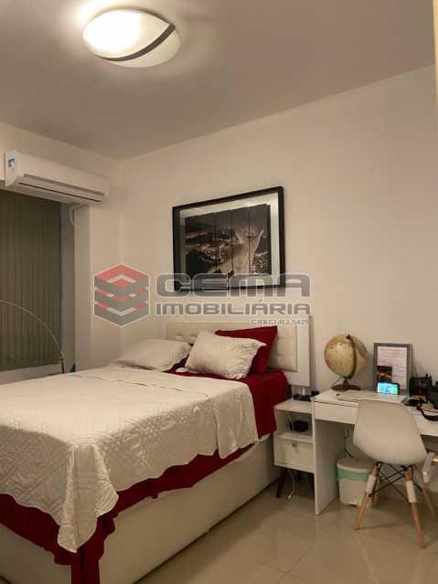 Suíte - Apartamento 2 quartos para alugar Glória, Zona Sul RJ - R$ 2.500 - LAAP25601 - 11