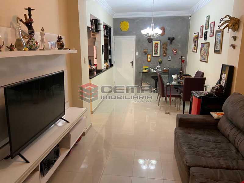 Sala - Apartamento 2 quartos para alugar Glória, Zona Sul RJ - R$ 2.500 - LAAP25601 - 4