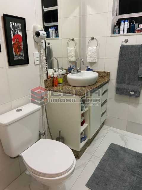 Banheiro social - Apartamento 2 quartos para alugar Glória, Zona Sul RJ - R$ 2.500 - LAAP25601 - 20