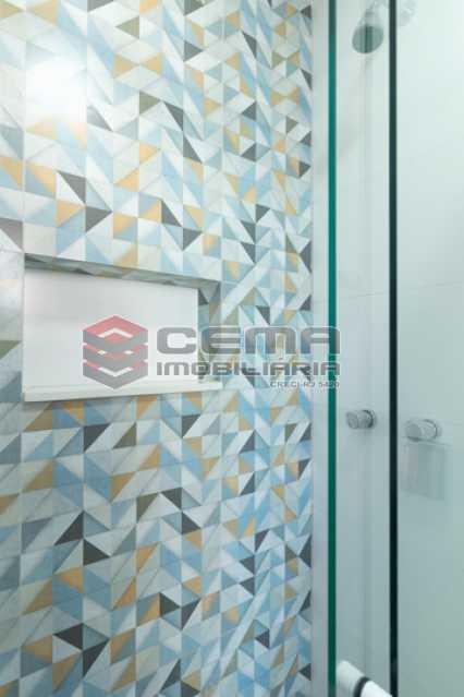 banheiro - Excelente Apartamento Quarto e sala reformadíssimo no Flamengo - LAAP13125 - 19