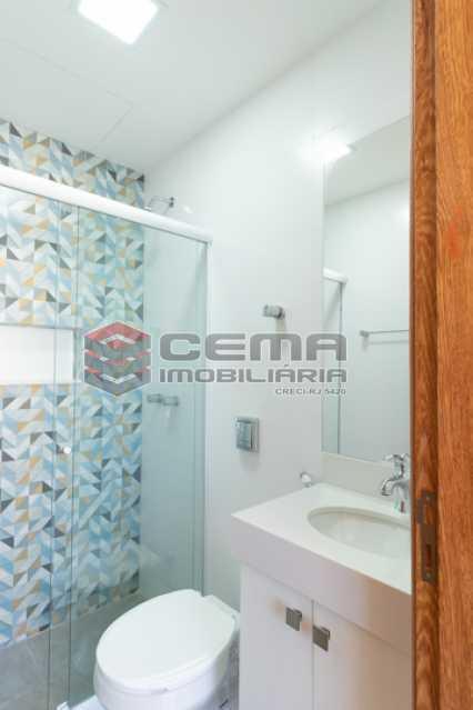 banheiro - Excelente Apartamento Quarto e sala reformadíssimo no Flamengo - LAAP13125 - 20