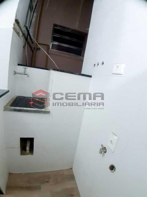 Área de serviço  - Apartamento 1 quarto para alugar Flamengo, Zona Sul RJ - R$ 1.600 - LAAP13145 - 12