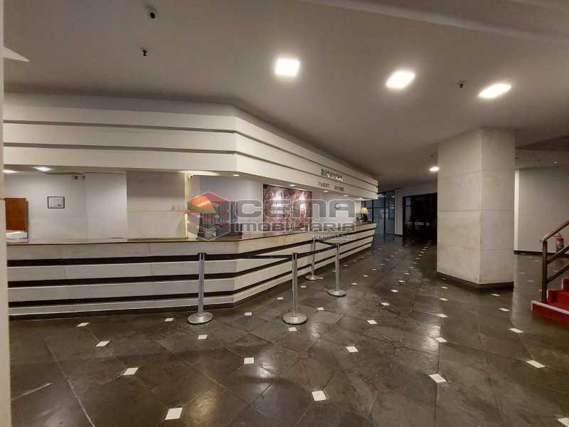 recepção angulo1. - Hotel Residência em Copacabana - LAAP13147 - 6