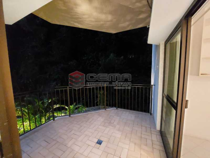 varanda angulo1. - Hotel Residência em Copacabana - LAAP13147 - 25