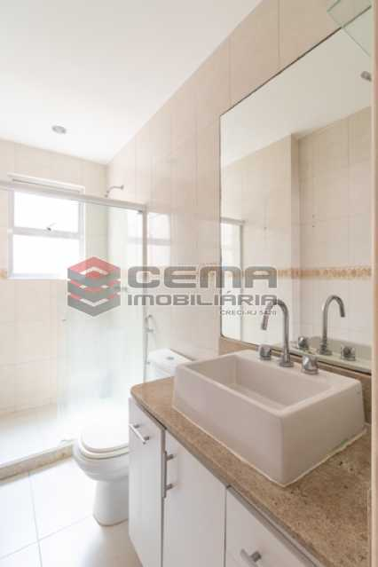 Banheiro Suíte - Apartamento para alugar Rua Soares Cabral,Laranjeiras, Zona Sul RJ - R$ 2.900 - LAAP34748 - 23
