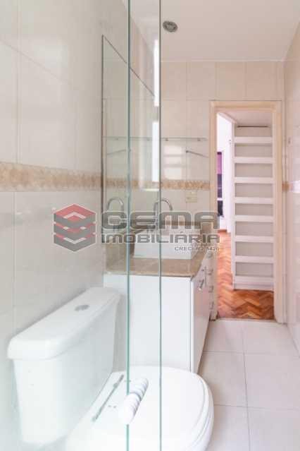 Banheiro Suíte - Apartamento para alugar Rua Soares Cabral,Laranjeiras, Zona Sul RJ - R$ 2.900 - LAAP34748 - 16