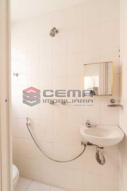 Banheiro de serviço - Apartamento para alugar Rua Soares Cabral,Laranjeiras, Zona Sul RJ - R$ 2.900 - LAAP34748 - 25