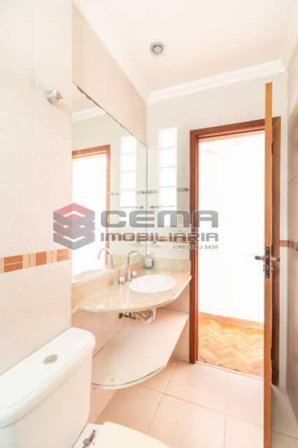 Banheiro Social - Apartamento para alugar Rua Soares Cabral,Laranjeiras, Zona Sul RJ - R$ 2.900 - LAAP34748 - 26