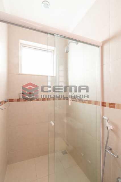 Banheiro Social - Apartamento para alugar Rua Soares Cabral,Laranjeiras, Zona Sul RJ - R$ 2.900 - LAAP34748 - 27
