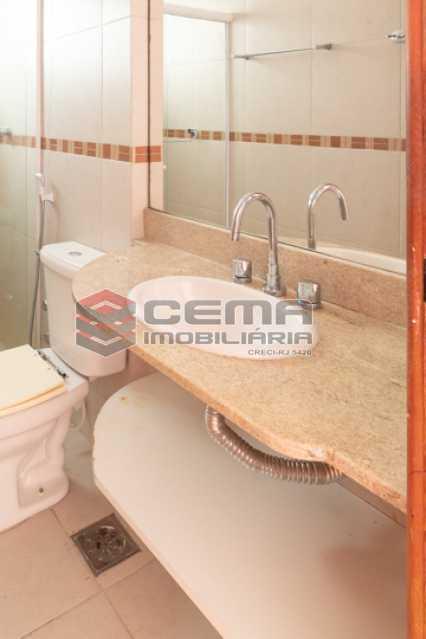 Banheiro social - Apartamento para alugar Rua Soares Cabral,Laranjeiras, Zona Sul RJ - R$ 2.900 - LAAP34748 - 28