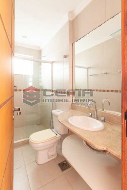 Banheiro social - Apartamento para alugar Rua Soares Cabral,Laranjeiras, Zona Sul RJ - R$ 2.900 - LAAP34748 - 29