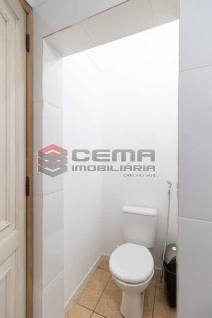 Banheiro social - Apartamento 3 quartos para alugar Laranjeiras, Zona Sul RJ - R$ 3.200 - LAAP34776 - 16