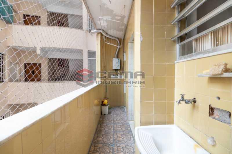 Área de serviço - Apartamento 3 quartos para alugar Laranjeiras, Zona Sul RJ - R$ 3.200 - LAAP34776 - 19