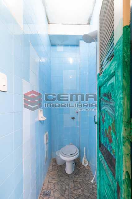 Banheiro de serviço - Apartamento 3 quartos para alugar Laranjeiras, Zona Sul RJ - R$ 3.200 - LAAP34776 - 21