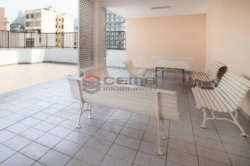 Terraço - Apartamento 1 quarto para alugar Flamengo, Zona Sul RJ - R$ 2.300 - LAAP13151 - 23