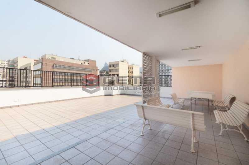 Terraço - Apartamento 1 quarto para alugar Flamengo, Zona Sul RJ - R$ 2.300 - LAAP13151 - 24