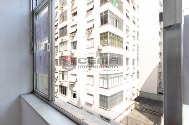 Vista sala - Apartamento 1 quarto para alugar Flamengo, Zona Sul RJ - R$ 2.300 - LAAP13151 - 8