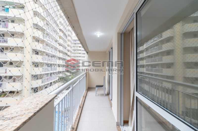 Varanda sala/suíte - Apartamento 2 quartos para alugar Catete, Zona Sul RJ - R$ 3.000 - LAAP25627 - 6