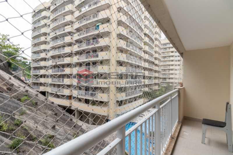 Varanda sala/suíte - Apartamento 2 quartos para alugar Catete, Zona Sul RJ - R$ 3.000 - LAAP25627 - 5