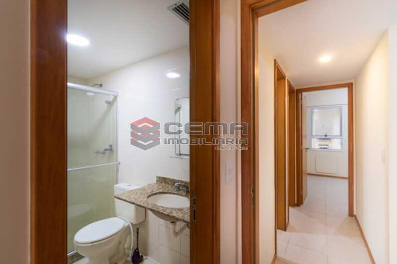 Banheiro suíte - Apartamento 2 quartos para alugar Catete, Zona Sul RJ - R$ 3.000 - LAAP25627 - 10