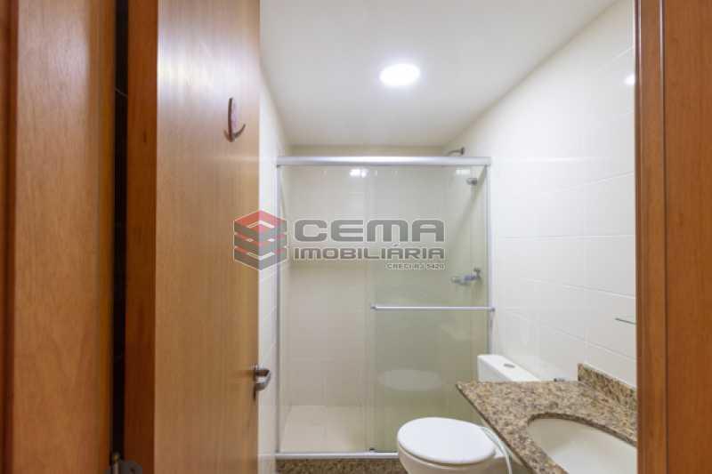 Banheiro suíte - Apartamento 2 quartos para alugar Catete, Zona Sul RJ - R$ 3.000 - LAAP25627 - 11
