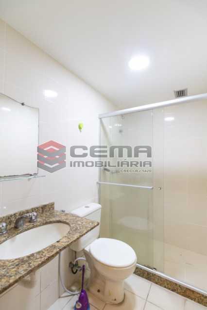 Banheiro social - Apartamento 2 quartos para alugar Catete, Zona Sul RJ - R$ 3.000 - LAAP25627 - 15
