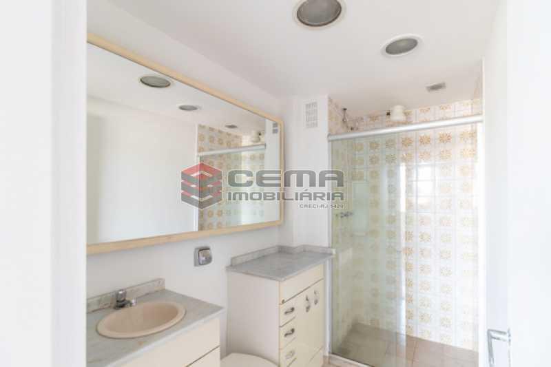 Banheiro - Apartamento 3 quartos para alugar Laranjeiras, Zona Sul RJ - R$ 2.300 - LAAP34781 - 15