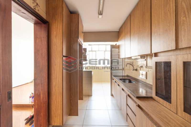 Cozinha - Apartamento 3 quartos para alugar Laranjeiras, Zona Sul RJ - R$ 2.300 - LAAP34781 - 18