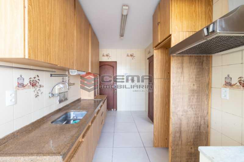 Cozinha - Apartamento 3 quartos para alugar Laranjeiras, Zona Sul RJ - R$ 2.300 - LAAP34781 - 19