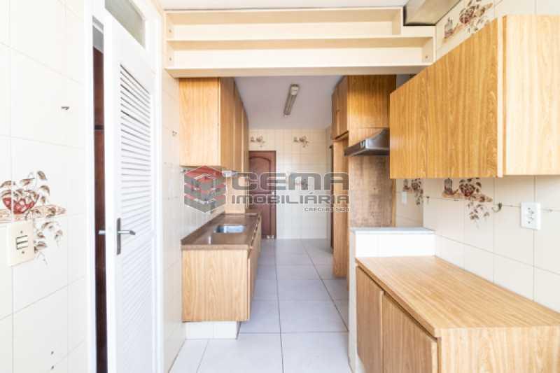 Cozinha - Apartamento 3 quartos para alugar Laranjeiras, Zona Sul RJ - R$ 2.300 - LAAP34781 - 22