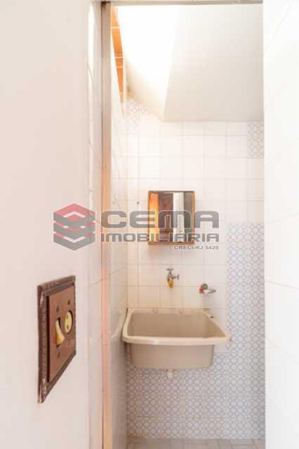 Dependência de serviço - Apartamento 3 quartos para alugar Laranjeiras, Zona Sul RJ - R$ 2.300 - LAAP34781 - 24