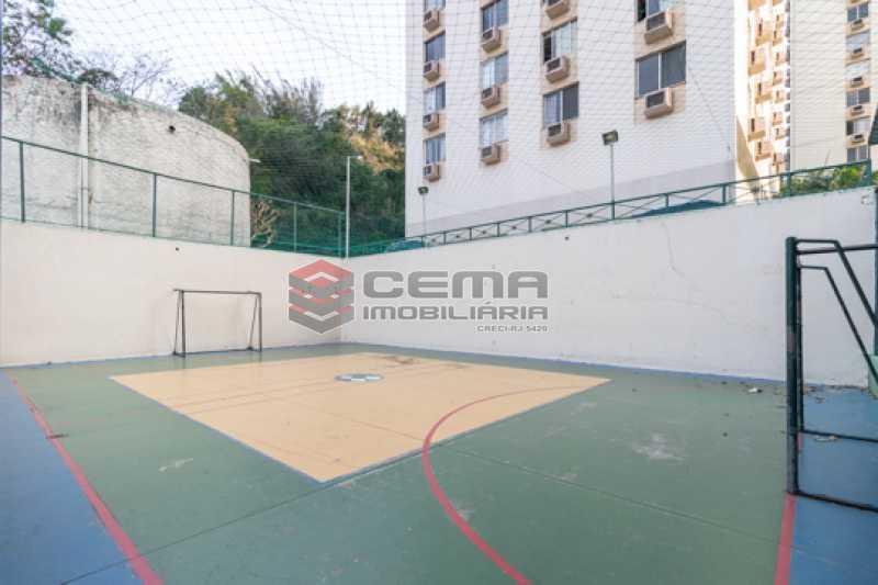 Quadra  - Apartamento 3 quartos para alugar Laranjeiras, Zona Sul RJ - R$ 2.300 - LAAP34781 - 27