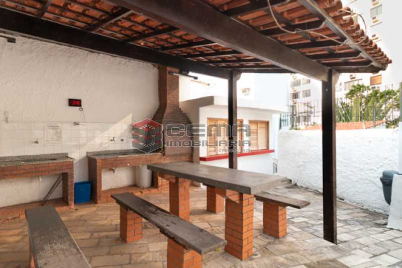 Churrasqueira - Apartamento 3 quartos para alugar Laranjeiras, Zona Sul RJ - R$ 2.300 - LAAP34781 - 29