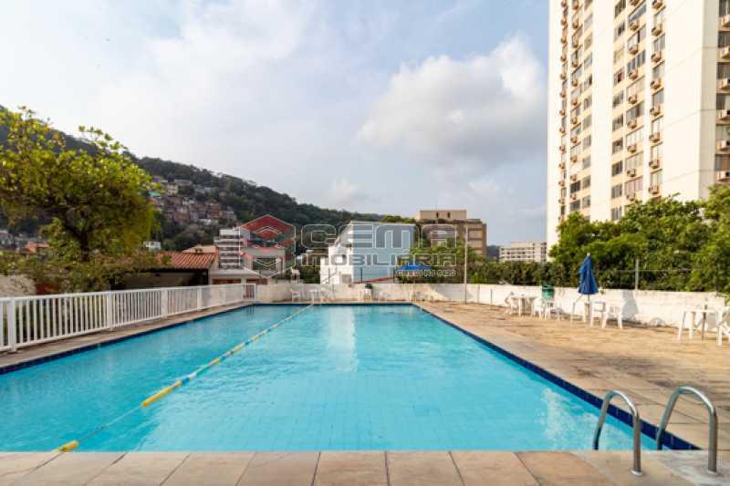 Piscina - Apartamento 3 quartos para alugar Laranjeiras, Zona Sul RJ - R$ 2.300 - LAAP34781 - 30
