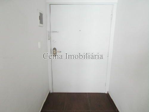 HALL DE ENTRADA - Apartamento 1 Quarto À Venda Flamengo, Zona Sul RJ - R$ 470.000 - LA12374 - 8