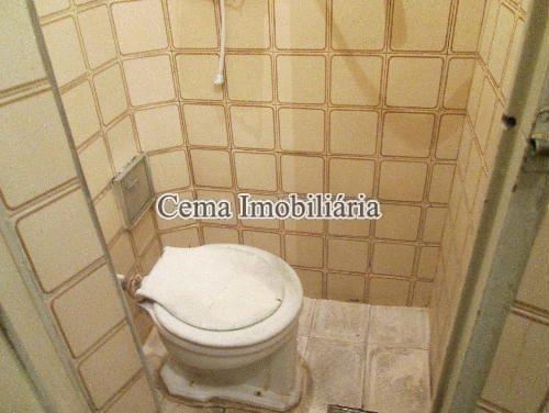 BANHEIRO DE SERVIÇO - Apartamento À Venda - Copacabana - Rio de Janeiro - RJ - LA23890 - 9