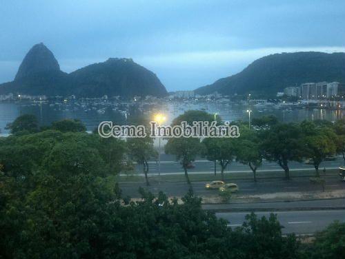 VISTA 1 - Apartamento 3 quartos à venda Botafogo, Zona Sul RJ - R$ 1.650.000 - LA32769 - 3
