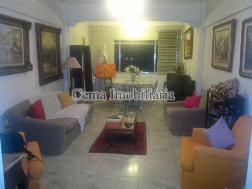 SALA 1 - Apartamento 3 quartos à venda Botafogo, Zona Sul RJ - R$ 1.650.000 - LA32769 - 5