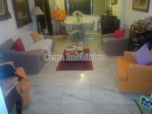 SALA 1 ANG. 1 - Apartamento 3 quartos à venda Botafogo, Zona Sul RJ - R$ 1.650.000 - LA32769 - 6