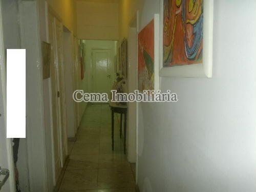 CIRCULAÇÃO - Apartamento 3 quartos à venda Botafogo, Zona Sul RJ - R$ 1.650.000 - LA32769 - 10