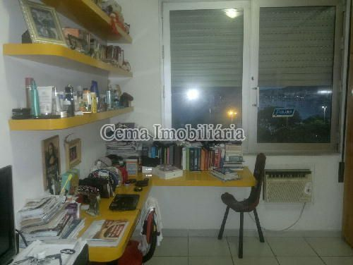 QUARTO 1 ANG. 1 - Apartamento 3 quartos à venda Botafogo, Zona Sul RJ - R$ 1.650.000 - LA32769 - 12