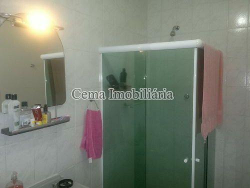 BANHEIRO SOCIAL  ANG. 1 - Apartamento 3 quartos à venda Botafogo, Zona Sul RJ - R$ 1.650.000 - LA32769 - 20