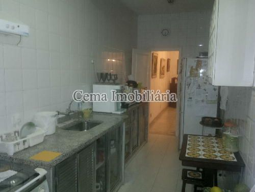 COZINHA - Apartamento 3 quartos à venda Botafogo, Zona Sul RJ - R$ 1.650.000 - LA32769 - 25