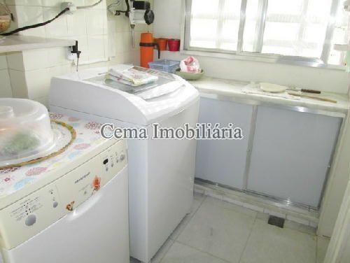 AREA DE SERVICO - Cobertura À Venda - Botafogo - Rio de Janeiro - RJ - LC20173 - 16