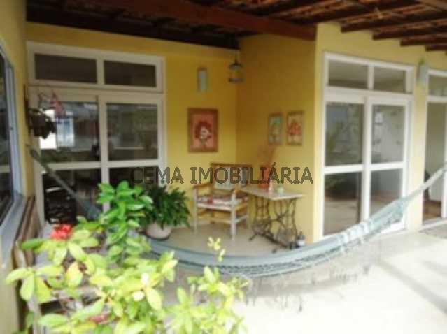 terraço - Cobertura 4 Quartos À Venda Laranjeiras, Zona Sul RJ - R$ 1.850.000 - LACO40010 - 3